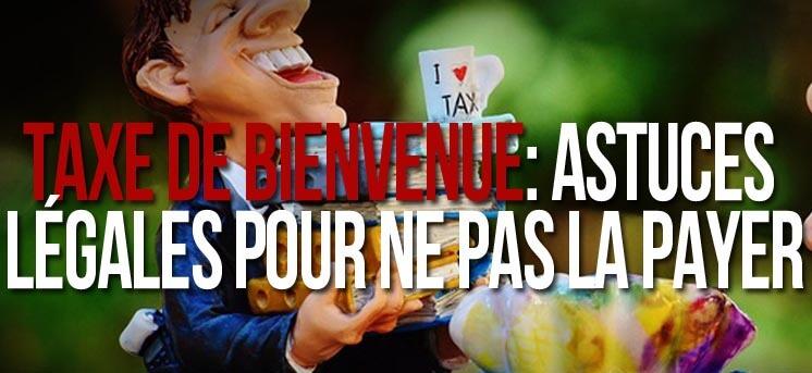 Taxe de Bienvenue